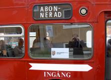 Bussen korrekt skyltad