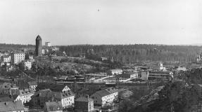 Industriområdets nordvästra del