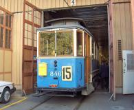 Här står vårt tåg på spår 4