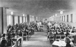 Bespisningslokalen ca 1948