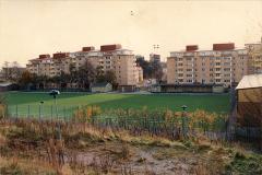 Fotbollsplanen från norr ca 1985
