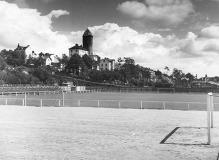 Fotbollsplanen från sydväst