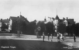 Hagalunds torg på 1930-talet