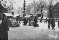 Julrusch på Hagalunds torg