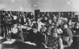 Biblioteket ca 1948