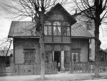 Visa Bilder av pionjärernas Hagalund, dvs. den östra delen av samhället som bebyggdes först