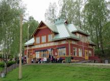 Visa Bilder från föreningens utflykt till museispårvägen i Malmköping i maj 2016